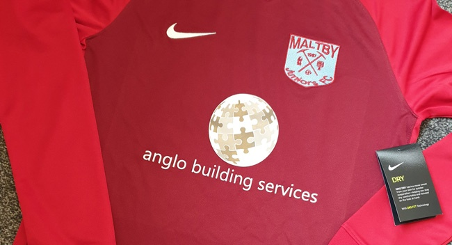 Continued Sponsorship for Maltby Juniors Under 12's Football Team